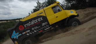 InstaForex loprais team photo