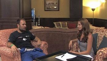 Wawancara dengan Ales Loprais setelah reli