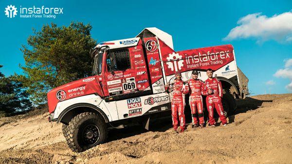 InstaForex Loprais Team – gemuruh pre Dakar