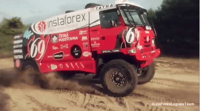 InstaForex Loprais Team: Truk baru siap menang!