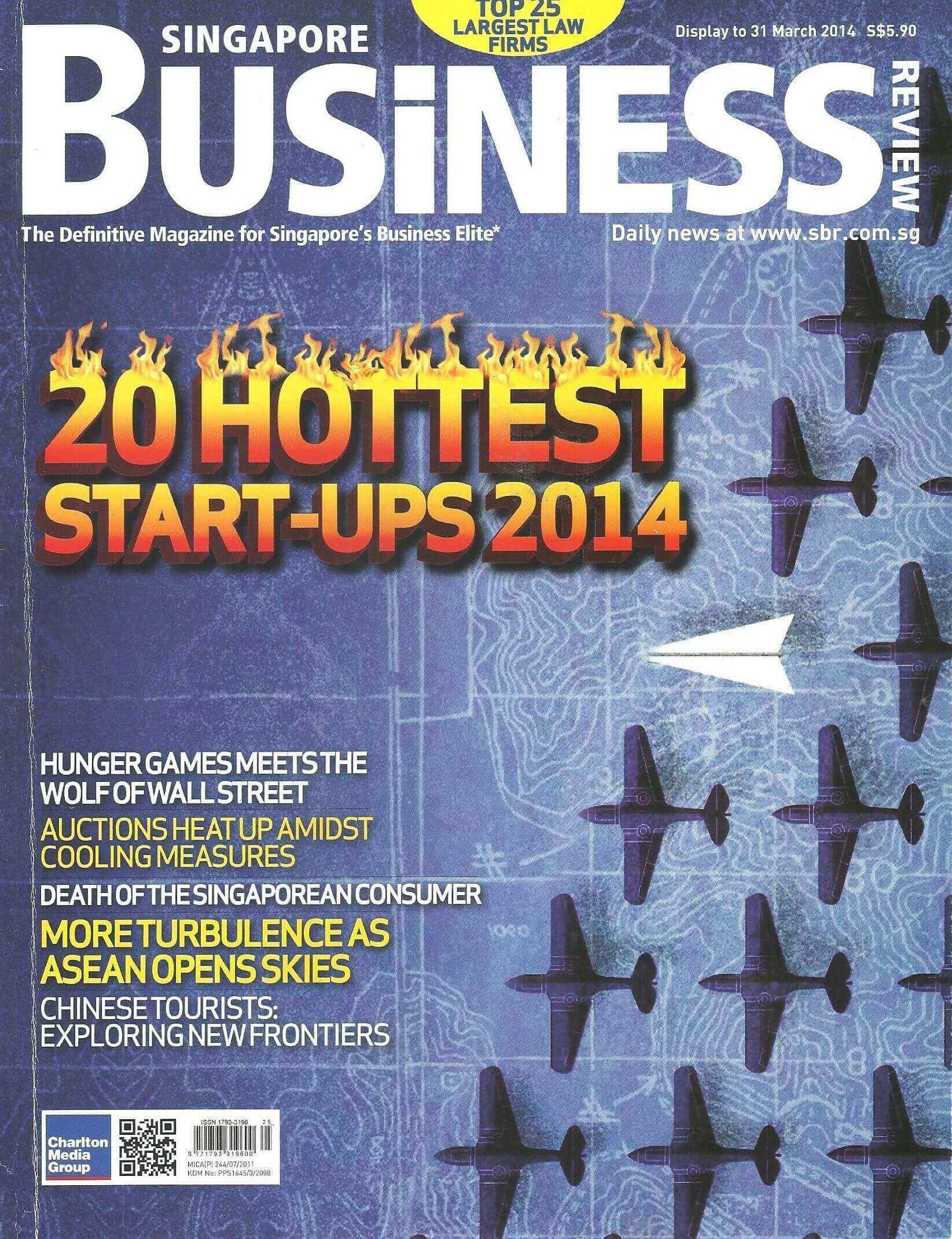 Majalah Singapore Business Review, April 2014