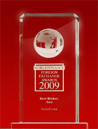 World Finance Awards 2009 - Broker Terbaik di Asia