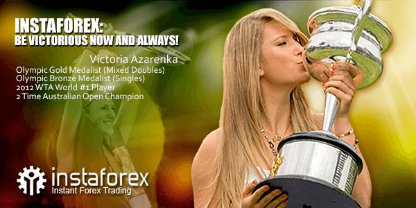 Victoria Azarenka - wajah InstaForex - pemain tenis top dunia
