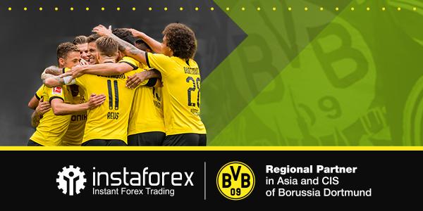 In partnership with leaders: Borussia Dortmund is new InstaForex ambassador