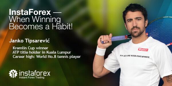 Pemain tenis yang luar biasa telah menjadi wajah InstaForex